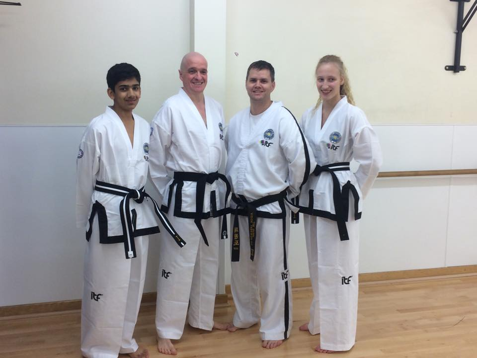 New Synergy Black Belts!